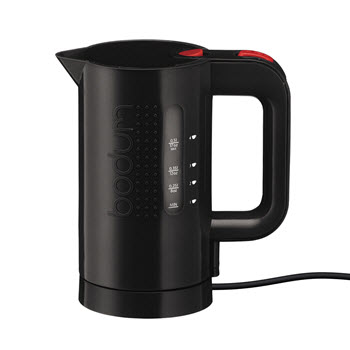 Bodum Bistro 1L Electric Water Kettle Black