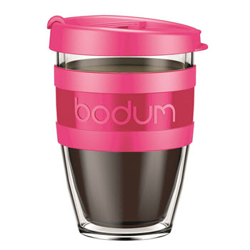 Bodum Joycup Travel Mug 300ml Pink