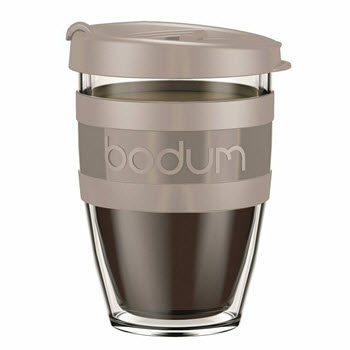Bodum Joycup Travel Mug 300ml Taupe