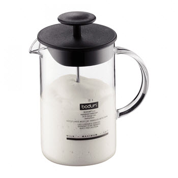 Bodum Latteo 250ml Milk Frother with Glass Handle