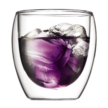 Bodum Pavina 250ml Double Wall Glass Set of 2