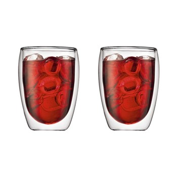 Bodum Pavina 350ml Double Wall Glass Set of 2