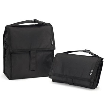 Packit The Original Freezable Lunch Bag Black