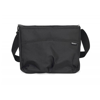 PackIt Carry All Waterproof Lunch Bag Black