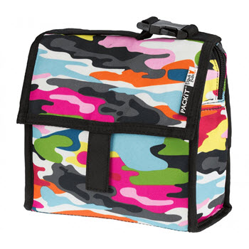 PackIt Waterproof Freezable Mini Lunch Bag Multicolour