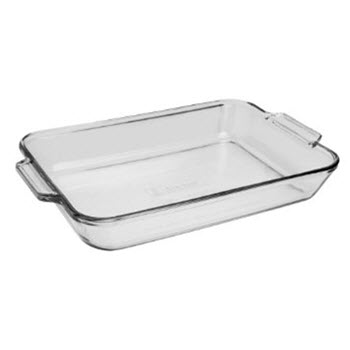 Anchor Hocking Fire-King 20 x 28cm Baking Dish 2L