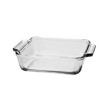 Anchor Hocking  20cm Square Cake Dish 2L