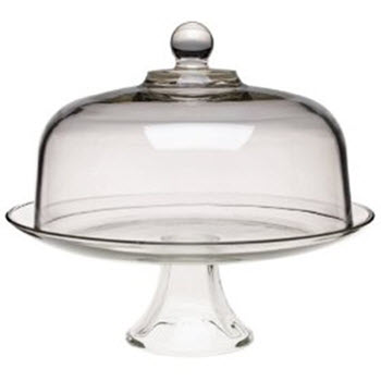 Anchor Hocking Cake Stand with Dome