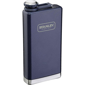 Stanley Adventure 236ml Hip Flask Hammertone Navy