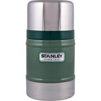 Stanley Classic 502ml Vacuum Food Flask Hammertone Green