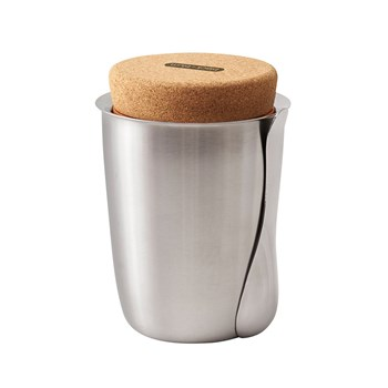Black & Blum Stainless Steel Thermo Pot with Cork Lid 550ml