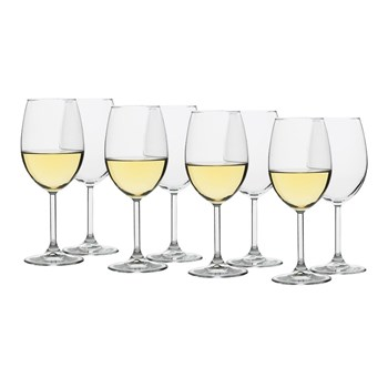 Ecology Otto Crystal Glass 8 Piece White Wine Glass Set 360ml