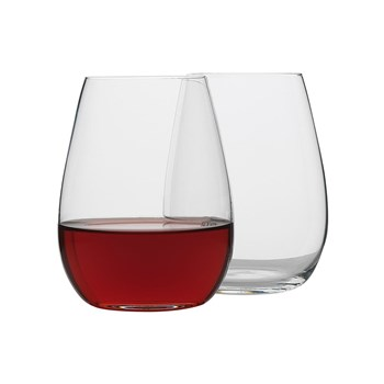 Ecology Otto Crystalline Glass 8 Piece Stemless Wine Glass Set 460ml Clear