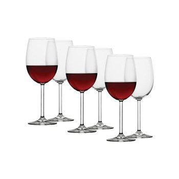 Ecology Crystalline Glass 6 Piece Red Wine Glass Set 450ml Clear