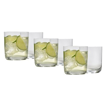 Ecology Crystalline Glass 6 Piece DOF Glass Set 370ml Clear