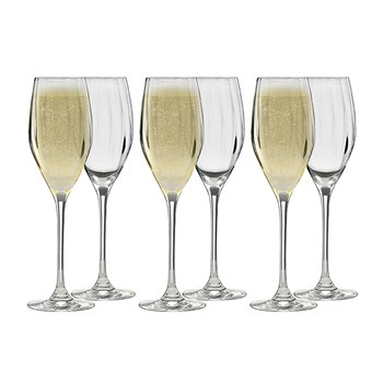 Ecology Twill Prosecco Glass Set of 6 170ml