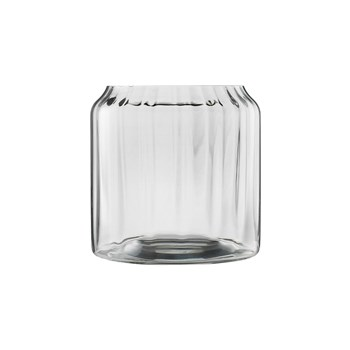 Ecology Twill Crystalline Glass Vase 18.5cm