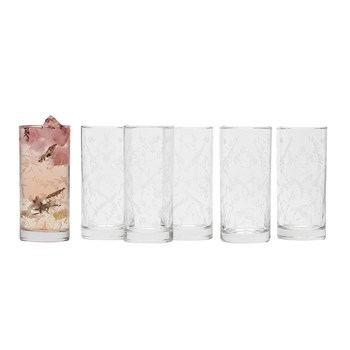 Ecology Greenhouse Glass 6 Piece Tumbler Set 380ml