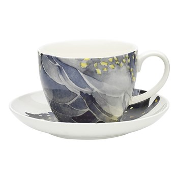 Ecology Paradiso New Bone China Cockatoo Tea Cup & Saucer Set 430ml