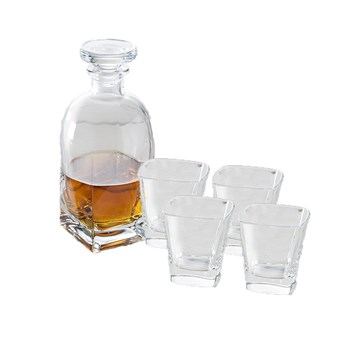 Vidivi Ducale 5 Piece Decanter & Tumbler Set