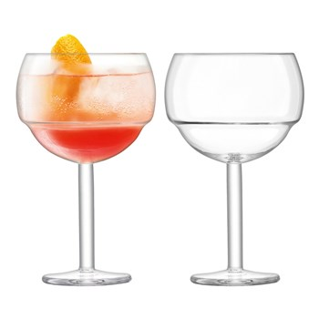 LSA Mixologist 2 Piece Cocktail Balloon Glass Set 520ml