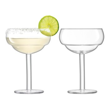 LSA Mixologist 2-Piece Cocktail Coupe Glass Set 320ml