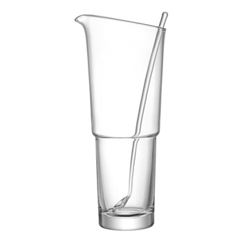 LSA Mixologist Glass Cocktail Jug & Stirer Set 1.6L