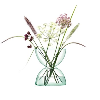 LSA Canopy Recycled Glass Vase 24cm