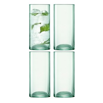 LSA Canopy 4 Piece High Ball Glass Set 350ml