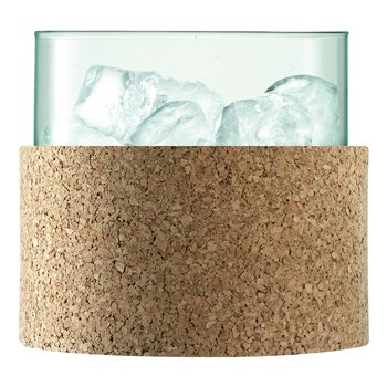LSA Canopy Recycled Glass Ice Bucket 15cm