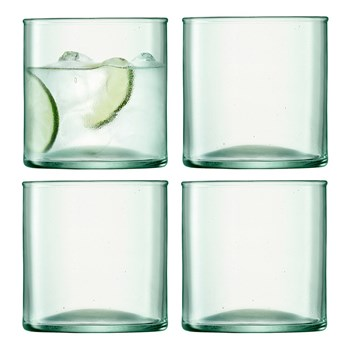 LSA Canopy 4-Piece Tumbler Glass Set 350ml
