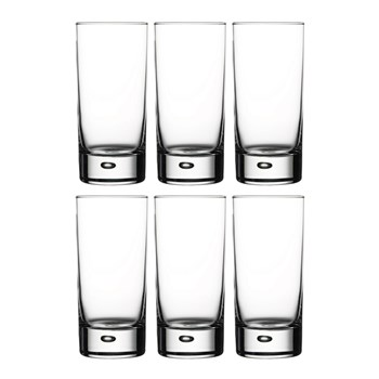 Pasabahce Centra 6 Piece Hi Ball Glass Set 365ml Made in Turkey