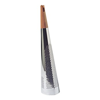 Alessi Todo Steel & Wood Grater 10 x 10 x 46cm