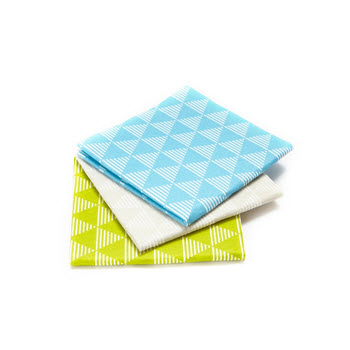 Full Circle Pulp Friction Dusting Cloths Set of 3