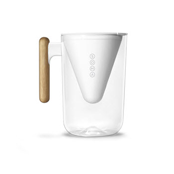 Soma Water Filter Jug Pitcher 2.3L White
