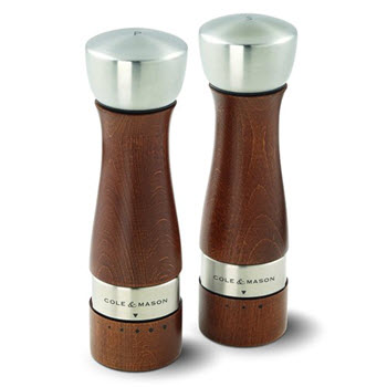 Cole & Mason Oldbury Gourmet Precision Salt and Pepper Mill Gift Set