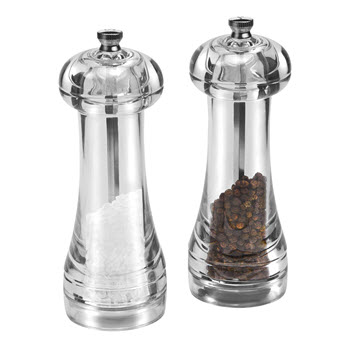 Cole & Mason Everyday Acrylic Salt and Pepper Mill Set