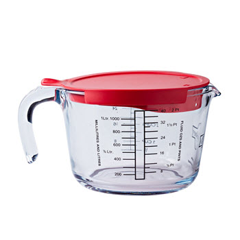 Ocuisine Measuring Jug with Lid 1L