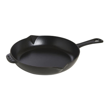 Staub Frypan with Handle 26cm Black