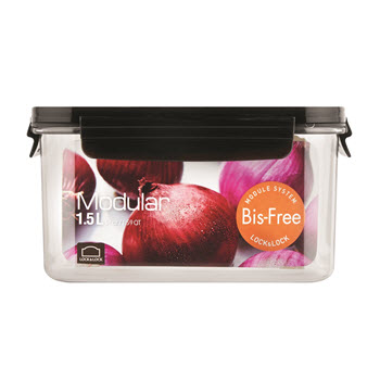 Lock & Lock Bisfree Modular Rectangular - 1.5L