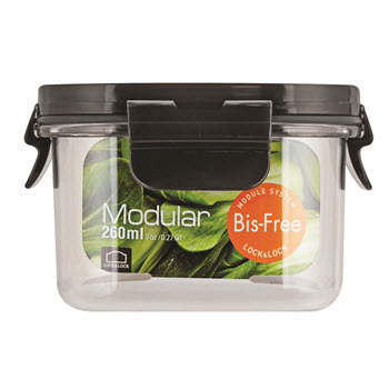 Lock & Lock Bisfree Modular Square - 260ml