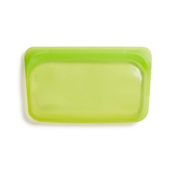 Stasher Platinum Silicone Snack Bag 293ml Lime
