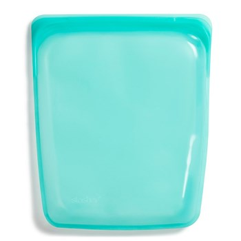 Stasher Platinum Silicone Half Gallon Bag 1.92L Aqua Blue