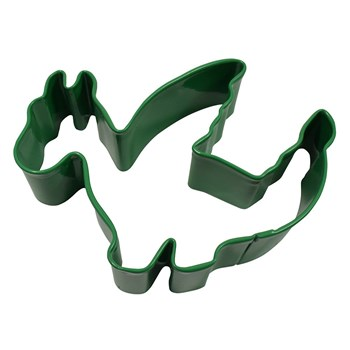 D.Line Tinplate Dragon Cookie Cutter 9cm Green