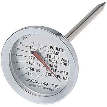 D.Line Acu-Rite Dial Meat Thermometer
