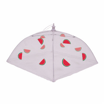 Appetito Nylon Net Food Cover 48cm Melon