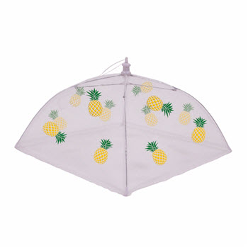 Appetito Nylon Net Food Cover 48cm Pineapple