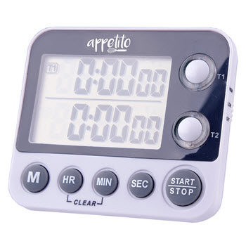 Appetito 100 Hours Dual Digital Timer