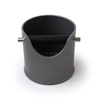 Crema Pro 110mm Black Knock Bin
