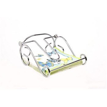 D.Line Chrome Napkin Holder with Arm